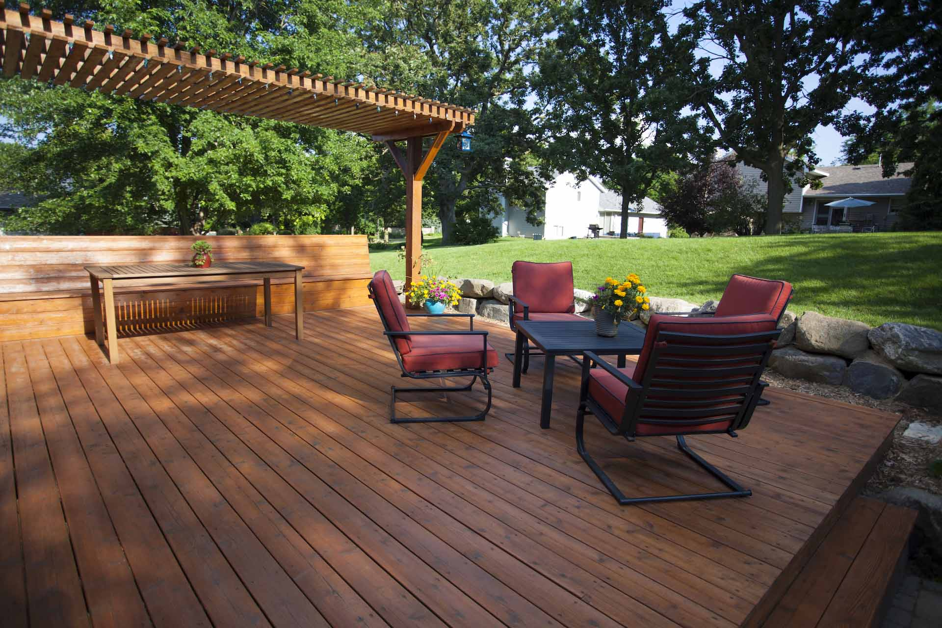 Types of Hardscapes: Wood or Composite Decking