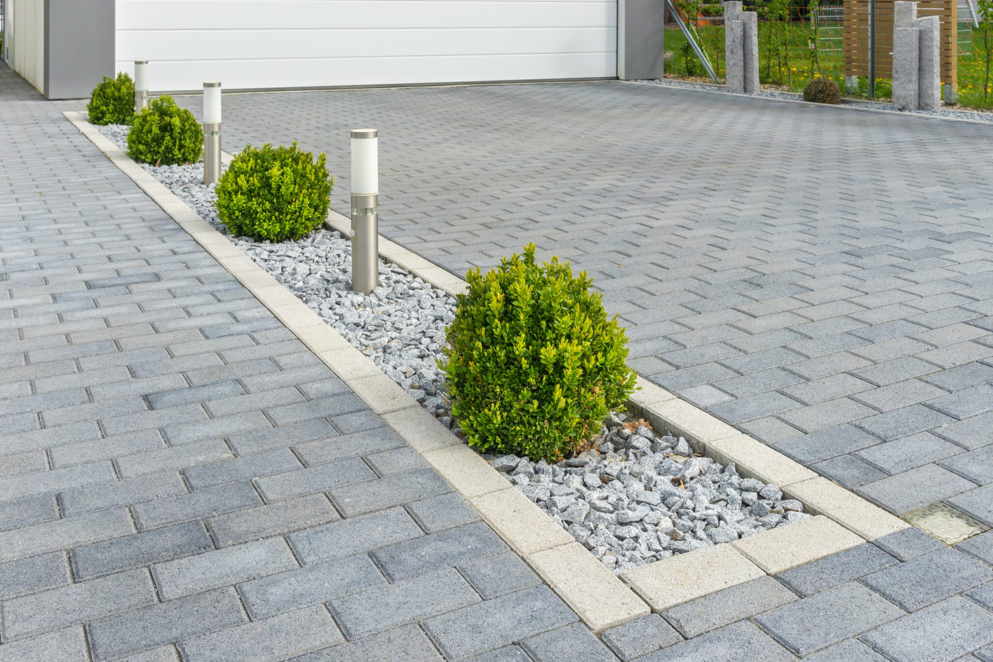outdoor hardscape ideas