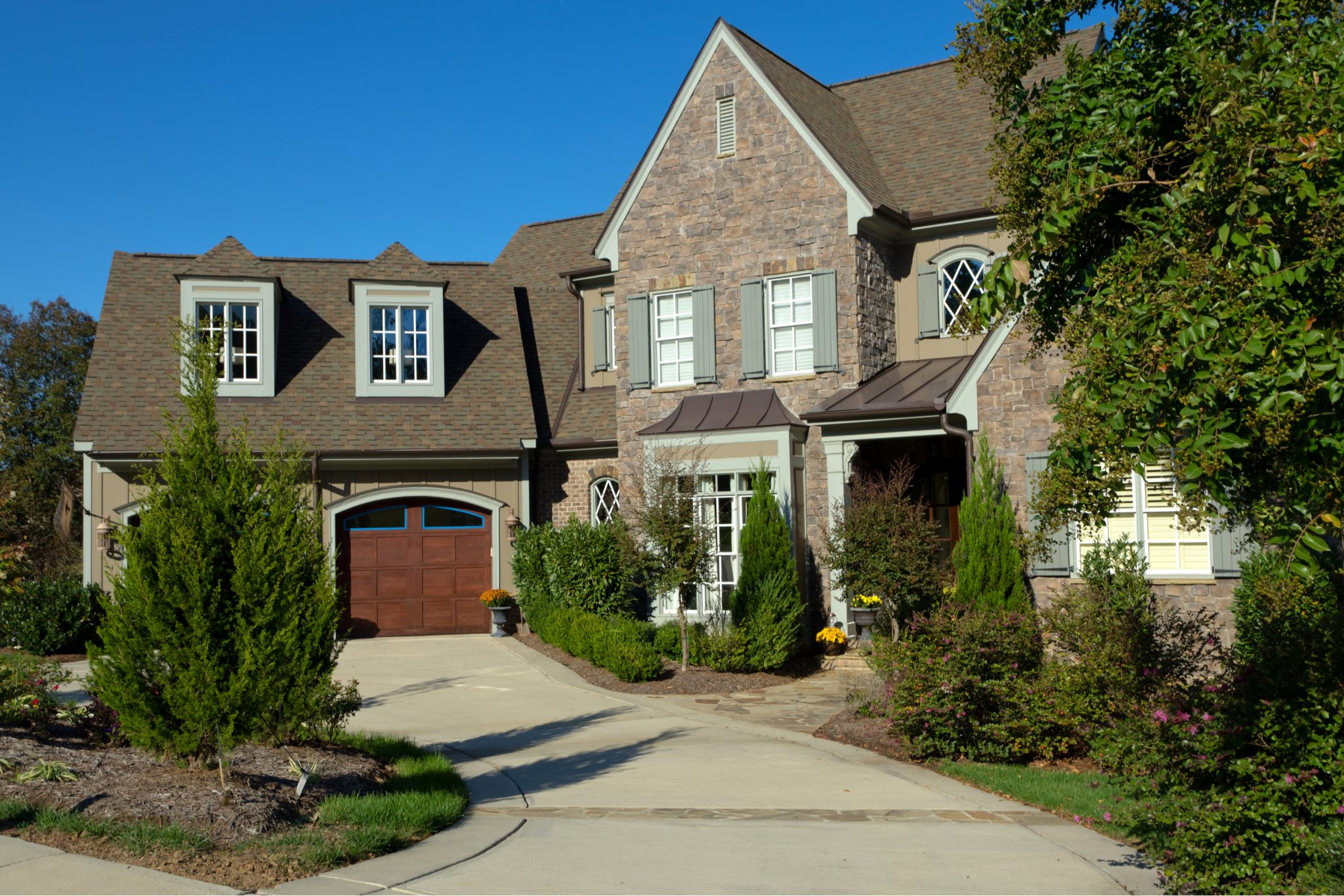 Driveway Designs for French Style Homes Stamped Concrete