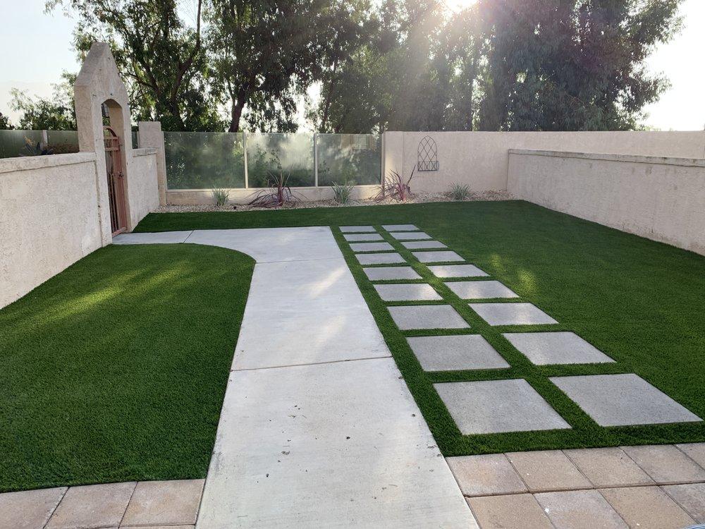 Artificial grass installation in Rancho Santa Margarita, California by Install-It-Direct