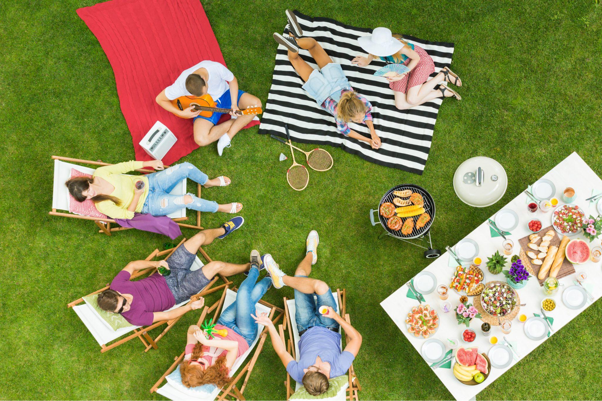 Backyard Camping Ideas