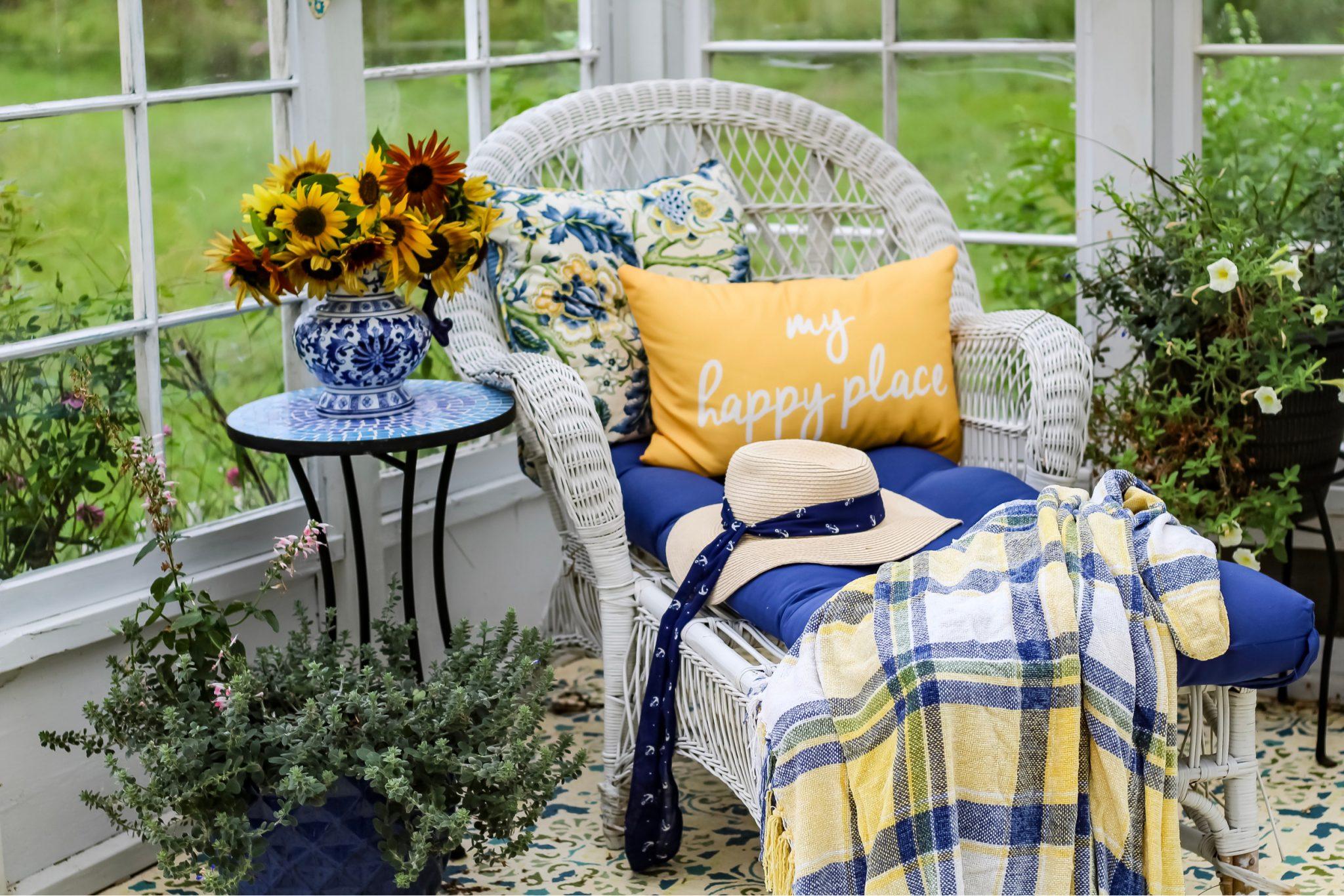 Backyard Meditation Space
