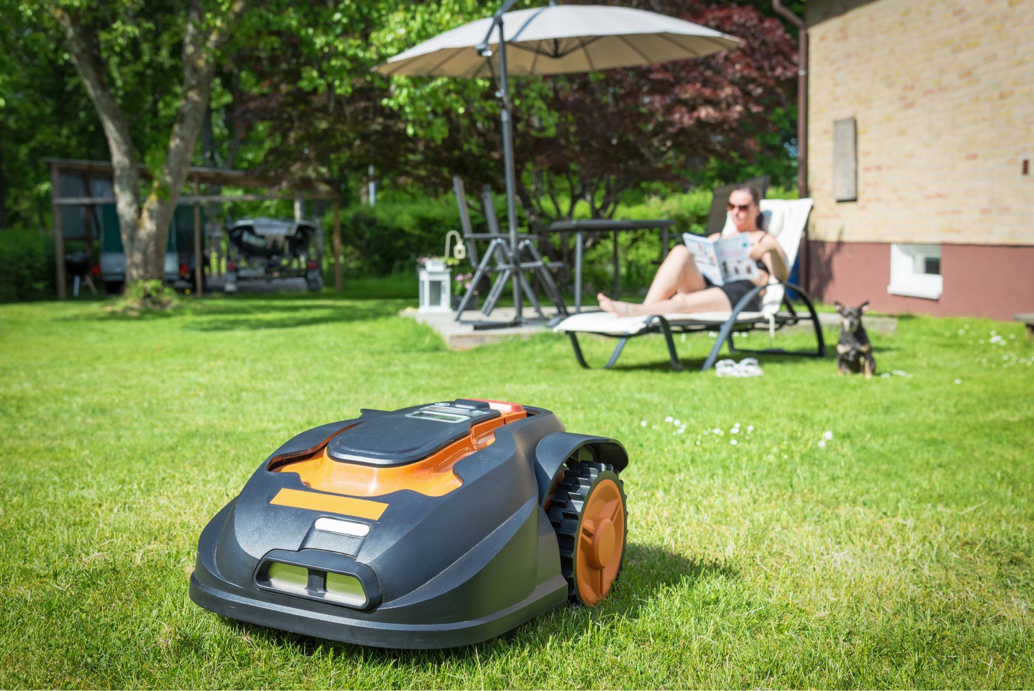 Best Outdoor Tech for Modern Backyards Robot Lawnmower