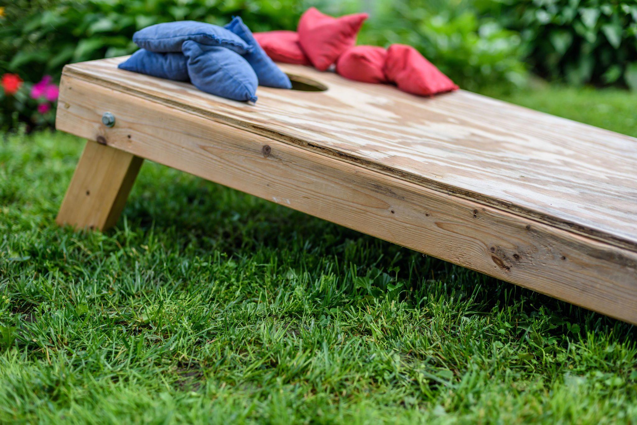 DIY Lawn Games for kids