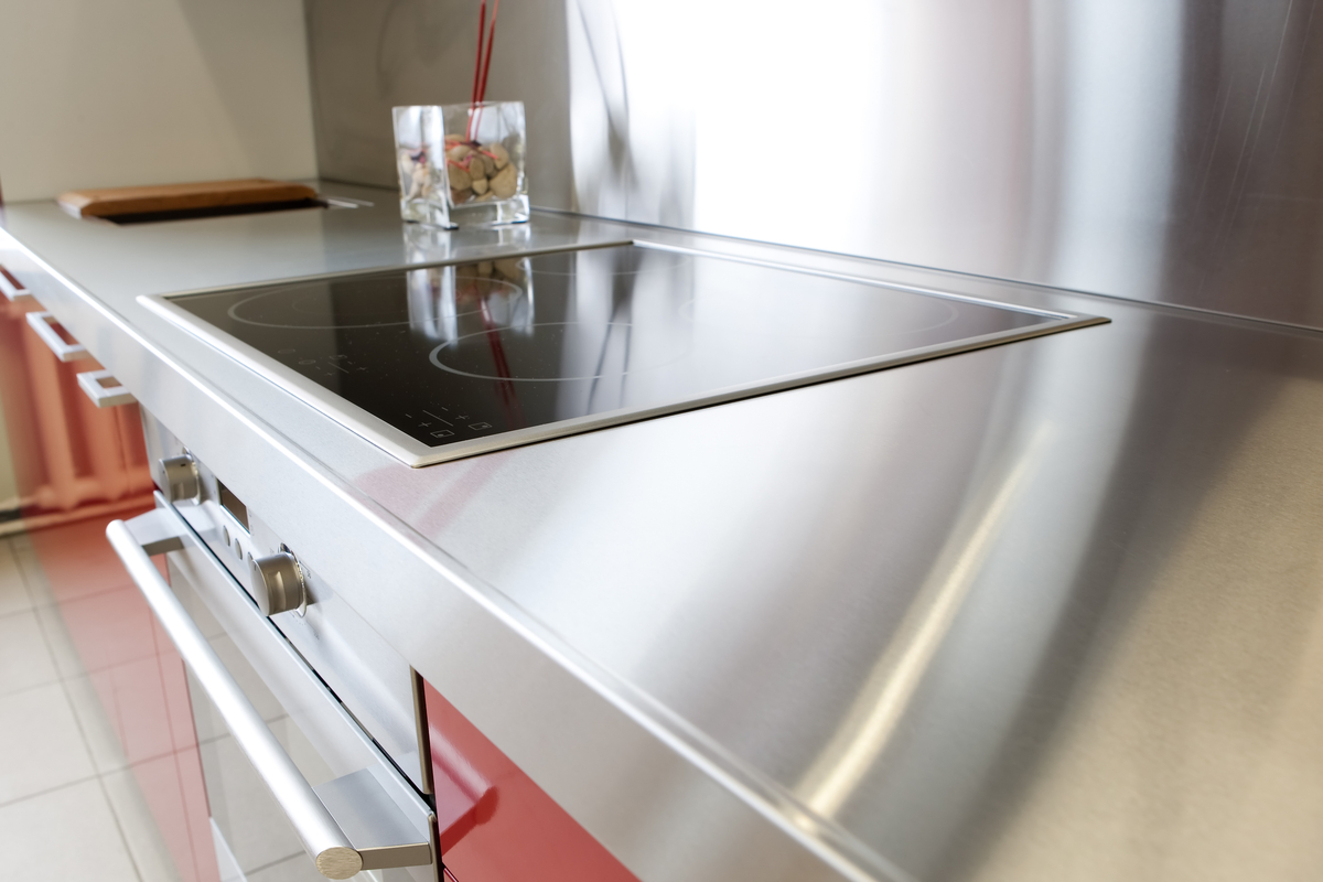 Outdoor Kitchen Countertops Ideas Steel