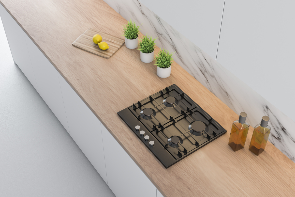 Outdoor Kitchen Countertops Ideas Wood